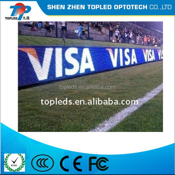 High resolution full color outdoor big perimeter advertising led display