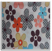 Pigment Printed Polyester/Cotton Brushed Fabric for Making Bed Sheets