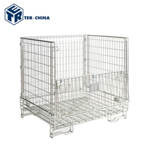 Evergreat Storage Wire Mesh Roll Container In Supermarket Shelving