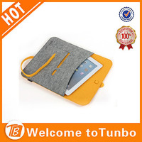 15.6 inch felt laptop sleeve custom tablet PC cover colorful laptop bag for women