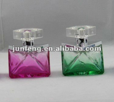 50ML crystal glass perfume bottle for lady