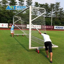 Professional Aluminum portable indoor soccer goal for sale