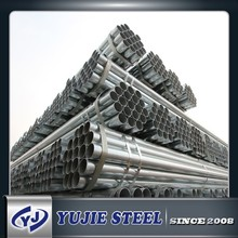 HOT DIP GALVANIZED HOLLOW SECTIOPN STEEL PIPE/TUBE FOR FACTORY WORKSHOP