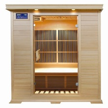 1 Person Hot Tub Carbon Infrared Heater Portable Dry Steam Sauna Room
