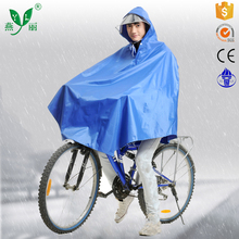 custom rain coat supplier biker rain poncho raincoat for bike rider