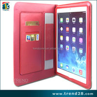 alibaba express book style leather case for ipad 5