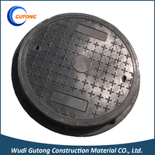 High quality long duration time frp round manhole cover plastic water well bmc