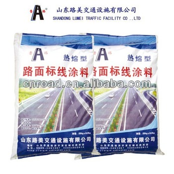 2014 New Reflective Thermoplastic Traffic Road Marking Paint Coating
