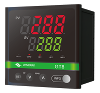 CE ISO Certificated GT8 Industrial Ramp Soak Temperature Controller with 32 segments program