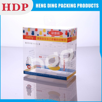 hot selling plastic package box China supplier