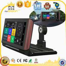 3G Car DVR Camera 7 inch Car Truck GPS Navigation Android 5.0 BT Navigator FHD 1080P Dual Camera Free Vehicle gps maps