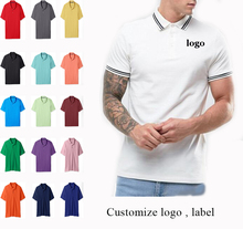 New 2016 men polo shirt fashion printing embroidered polo shirt with your own private logo