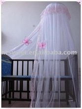 baby canopy/mosquito net for baby crib bedding decoration/factory