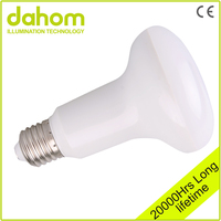 High Efficiency Plastic Reflect Light R80 Led Bulb 10w E27 Led BR LAMP