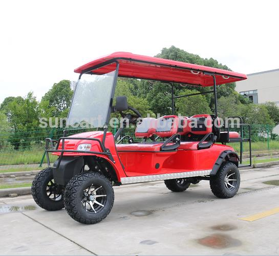 250cc cheap 6 Seater gas powered golf cart / mini gas cars for sale
