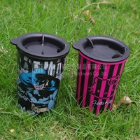 plastic water cup with lid/mini plastic cup/plastic cup price