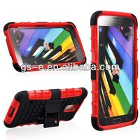 2014 new product dual robot hybrid case for HTC M8 protective combo case for HTC M8