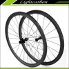 2015 Full Carbon Road Bike Wheels Clincher 38mm SLR-38C for Sale with Ceramic Bearing Alloy Hubs Free Shipping