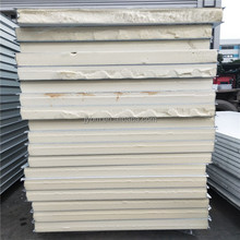 good thermal insulation PU sandwich panel 75mm polyurethane foam cold storage wall panels