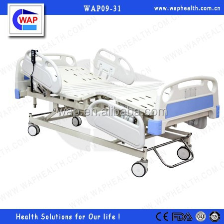 WAP-health promotional Luxury Three Function Electric Care Bed with CE certificate