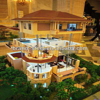 Fashional elegant houses light steel low cost prefabricated homes