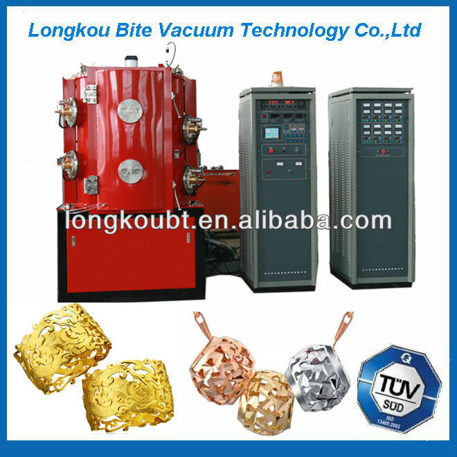 titanium oxide color coating machine
