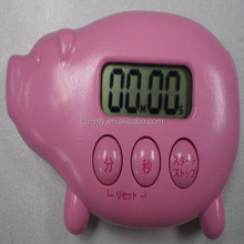 pig shape kitchen timers, animal countdown timer