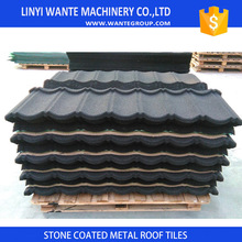 Wante brand Best Price stone coated steel metal roof sheet antique tile worldwide used