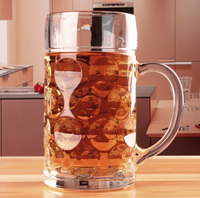 Safe Beer Glasses Flexible Shatterproof Recyclable Glass