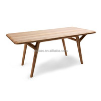 Modern High End Dining Table Solid Ash Wood Dining Room Table