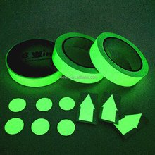 PVC adhesive vinyl glow in dark tape/ Night light tape/ Photoluminescent film tape