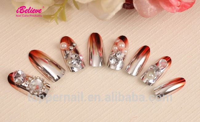 natural tip polish display color chart nail for wholesale