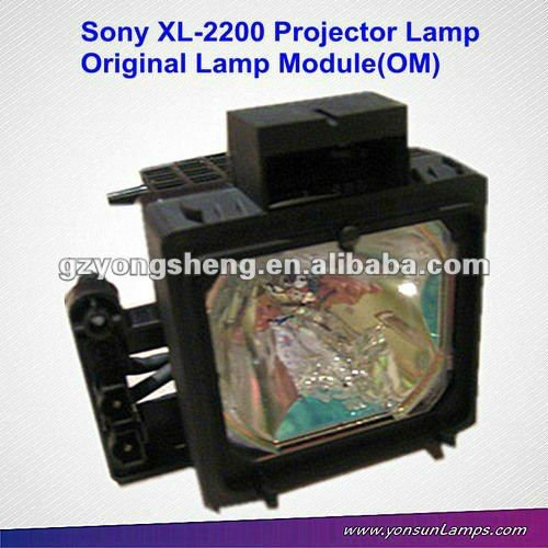 Original bulb with housing for SONY XL-2200 XL2200 A-1085-447-A F-9308-580-0