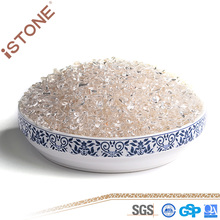 Wholesale Clear Crystal Gravels Loose Gemstone Stone for Home Decoration