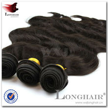 Wholesale Charming Natural Color Remy Human Hair Extensions Soprano Wave