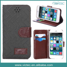 Shenzhen wholesale supplier for i phone 6 4.7 inch pu leather case