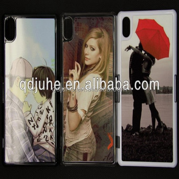 new products 2014 sublimation cell phone case for Sony xperia Z2