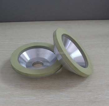 Good wear resistance ceramic diamond grinding wheels for bruting natural diamond