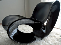Minimalism Butterfly Fiberglass Rocking Chair For Living Room