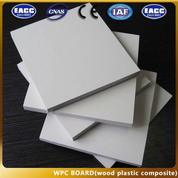 Waterproof building board/Latest WPC Building Materials Concrete Board