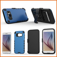 Factory belt clip holster bumper case cover for samsung galaxy s7 edge