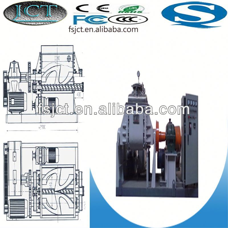 high quality and multi functional kneader making machine used for rubber tube handle NHZ-500L