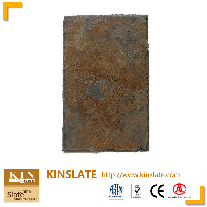 China glaring Rusty roofing slates stone
