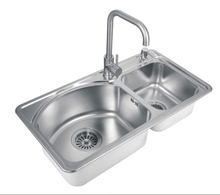 FLG Factory Price Handmade Stainless Steel Kitchen sink