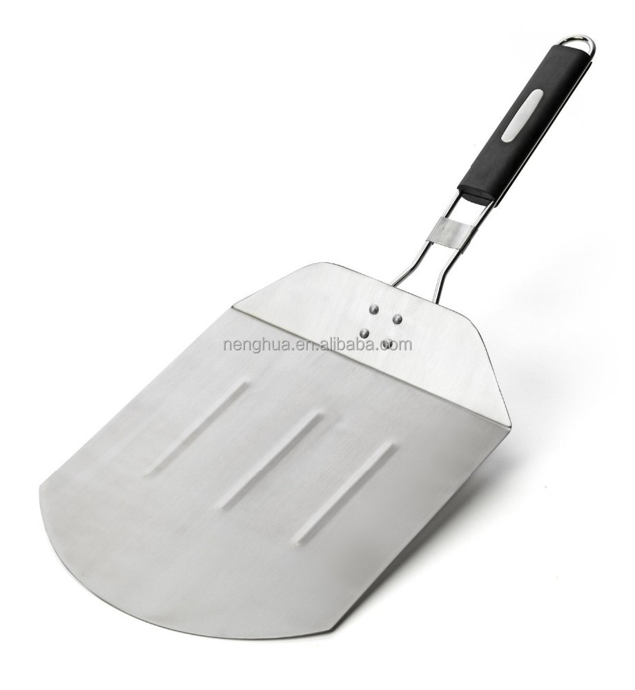 12'' Stainless Steel Pizza Peel With Fodlable handle