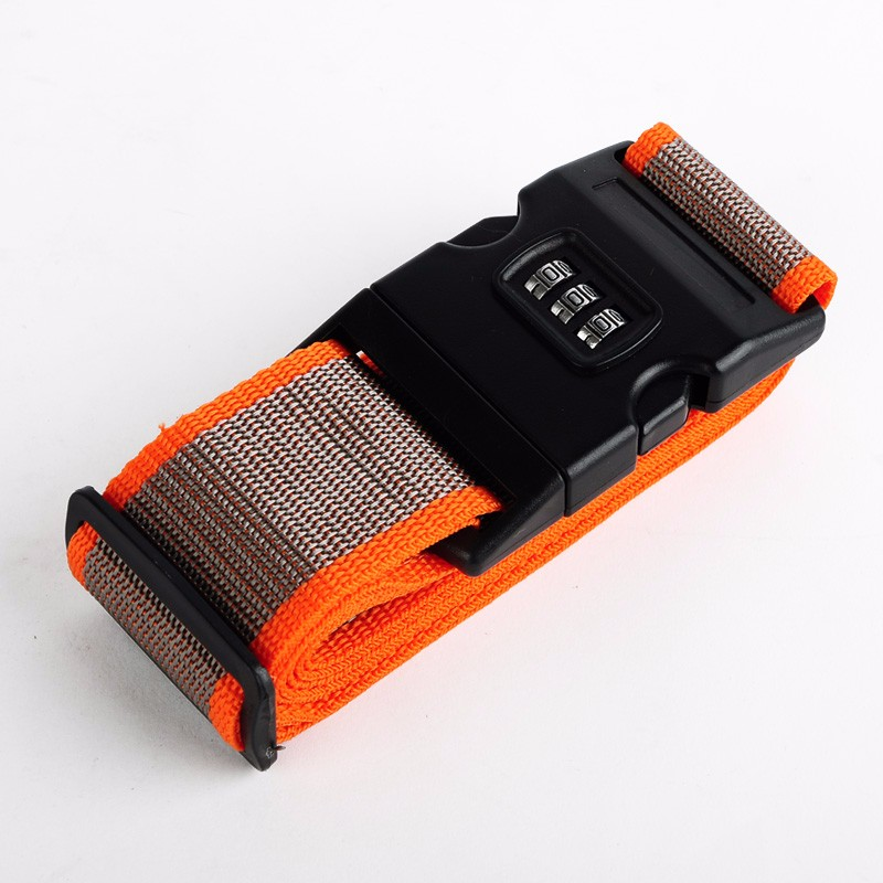 Custom Travel Belts Durable Luggage Straps with Plastic <strong>Buckle</strong>