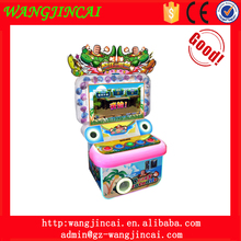 coin operated lights button hitting simulator lottery game machine crazy crocodile music hit amusement arcade machines