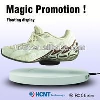 new invention ! magnetic levitating led display stand for shoe woman,brazilian women shoes