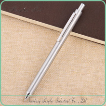 2017 newest promotional Metal Small Stainless Steel Click Pen