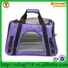 Large Cat Dog Carrier Case Comfort Pet Travel Bag with Pocket